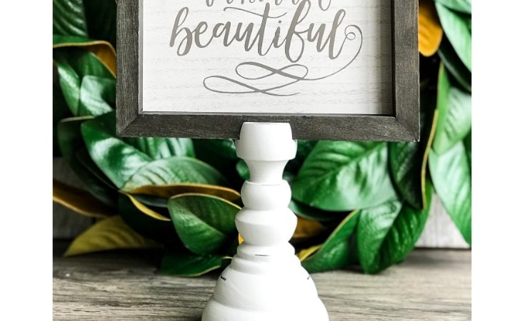 The Fastest Way to Make Beautiful, High-End Farmhouse Signs
