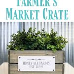 How to Make Farmhouse Style Market Crates with Chalk Couture