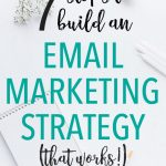 How to Build an Effective Email Marketing Strategy